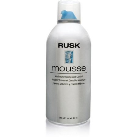 Volume Control Pouch - Rusk Maximum Volume & Control Mousse, 8.8 oz (Pack of 2)