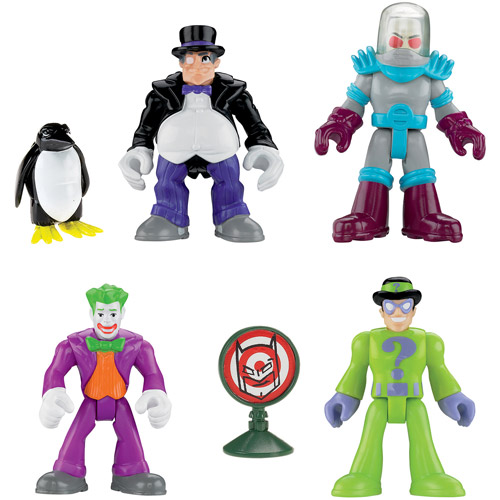 Fisher-Price Imaginext Superfriends Villains Action Figures Play Set