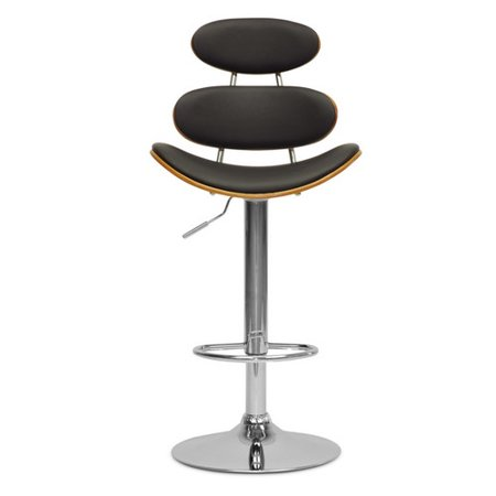 Wholesale Interiors Baxton Studio Adjustable Height Swivel Bar Stool