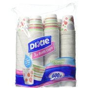 Dixie Bath Cups, 3 Oz, 600 Count