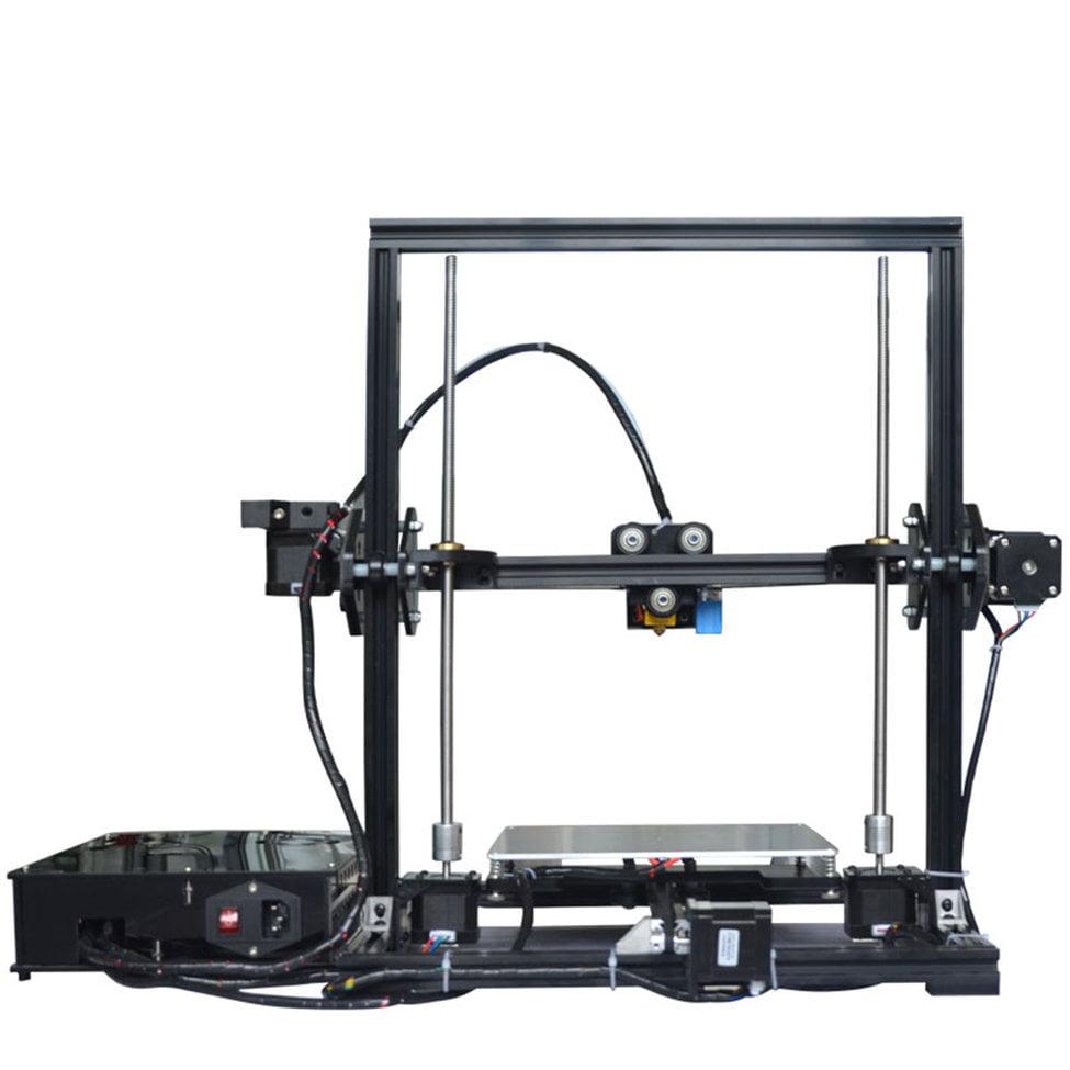 Aluminium Profile Extrusion 3D Printer Kit 3D Printing SD Card LCD Screen