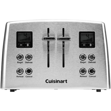 Best Cuisinart Toasters 4-Slice Compact Toaster in Silver Stainless CPT-435 deal