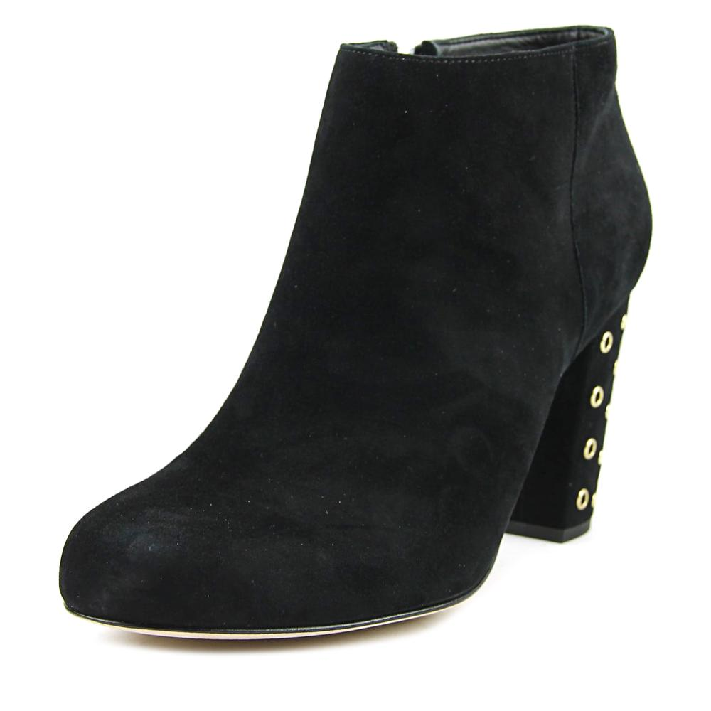 Kate Spade Cirra Women Round Toe Suede Black Bootie by kate spade