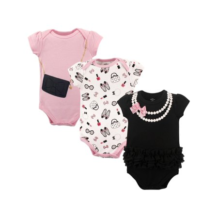 Bodysuits, 3-pack (Baby Girls)