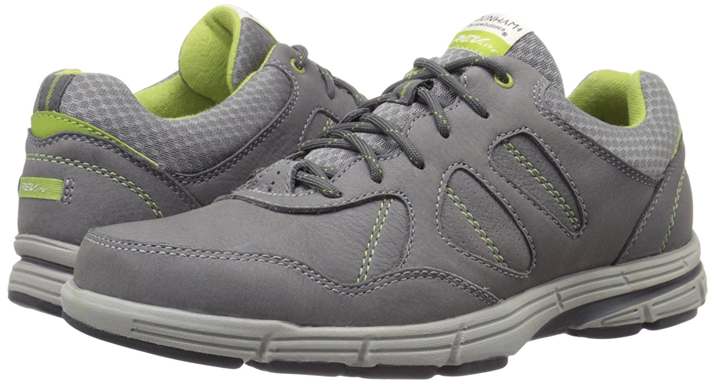 Dunham Men's Grey Nubuck Revsharp Sneaker by Dunham by New Balance