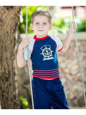 Boys Mini Yacht Club UV Rash Vest
