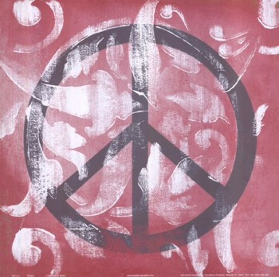 Peace Poster Print by Hakimipour - Ritter (12 x 12)
