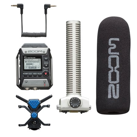 0e410c531bfe Zoom F1-SP Field Recorder + Shotgun Microphone Package