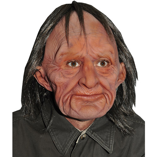 Supersoft Old Man Halloween Adult Latex Mask