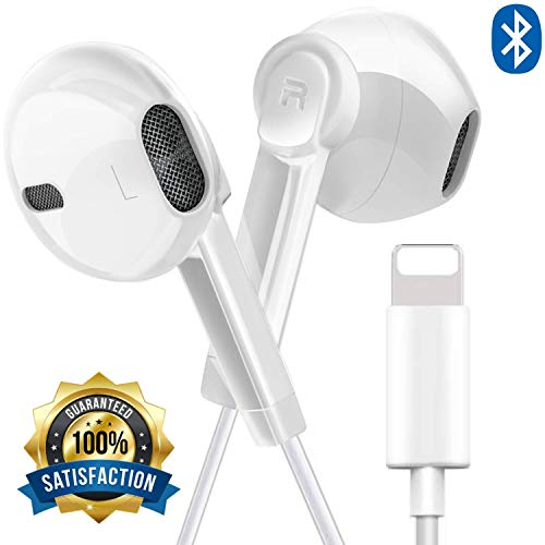 in-Ear Earbud Headphones (Black) Dynamic Crystal Clear Sound, Ergonomic Comfort-Fit