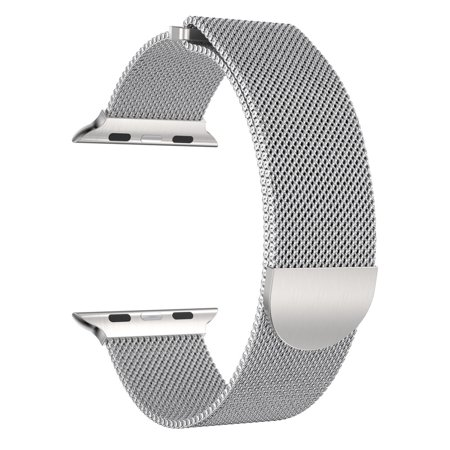 Milanese Stainless Steel Magnetic Watch Band For Apple Watch Series 3 42MM SL