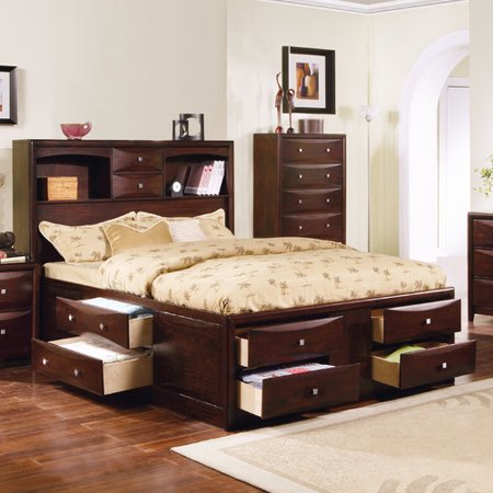 Wildon Home Manhattan Storage Bed In Espresso