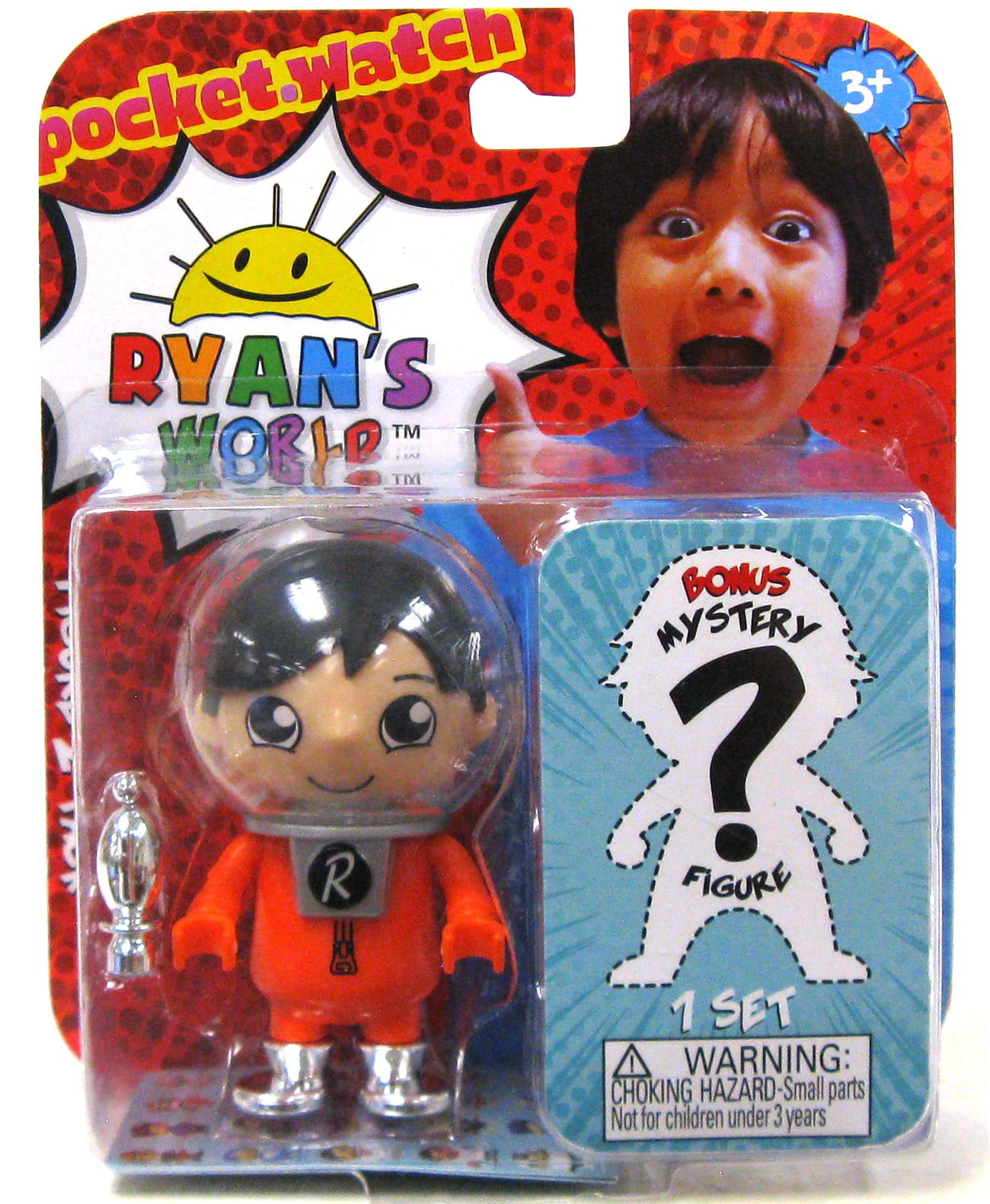 Ryan's World Space Base Ryan & Mystery Figure Mystery 2-Pack by