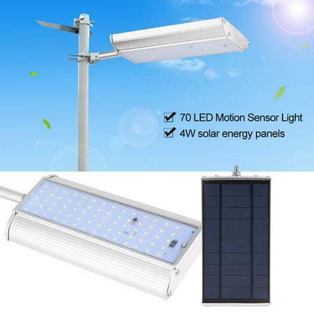 Filfeel Waterproof Solar 70 LED Motion Sensor Light Outdoor Garden Path Street Wall Lamp, Motion Sensor Light, Garden Solar Light
