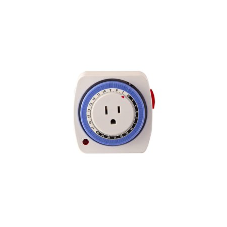 Go Green Power GG-36011 Mechanical 24 hour Timer, Easily programmable By Go Green Power Inc