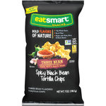 Eatsmart Snacks Spicy Black Bean Three Bean Tortilla Chips, 7 oz