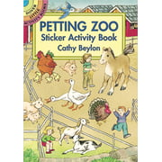 Dover Publications-Petting Zoo Sticker Activity Book
