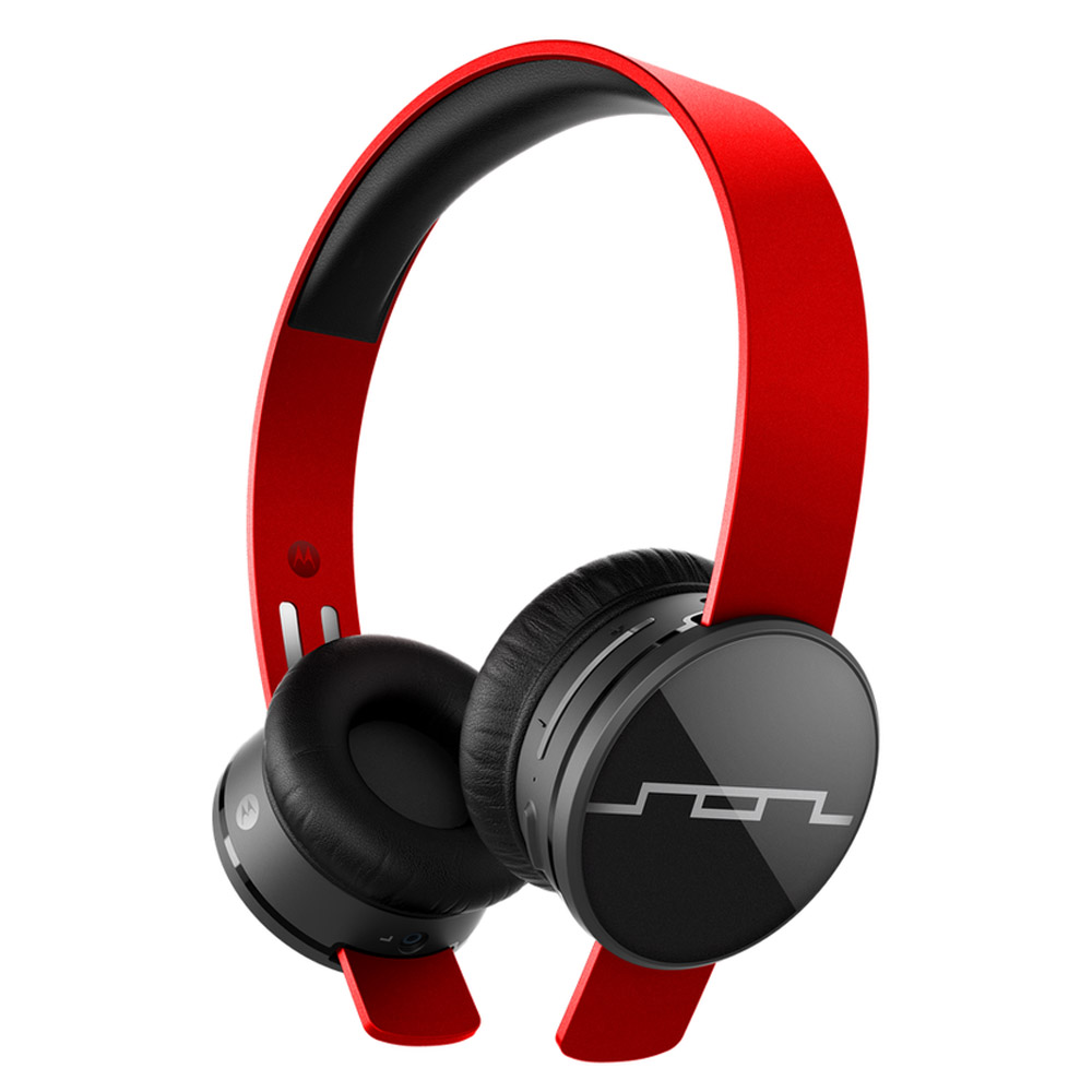 Sol Republic Tracks Air Wireless On-Ear Headphones (Vivid Red)