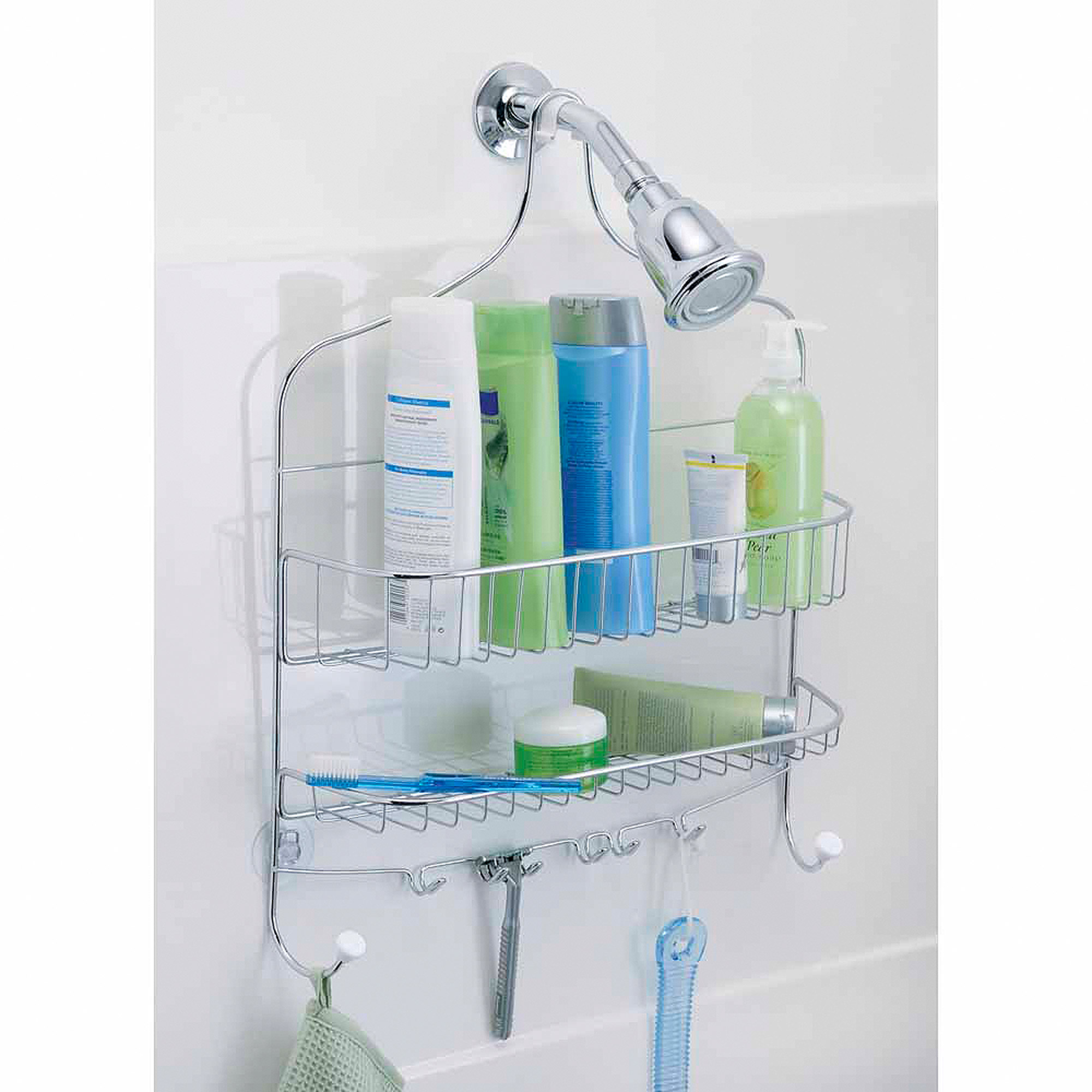 Click here to buy InterDesign Cero Wide Nesting Shower Caddy by INTERDESIGN.