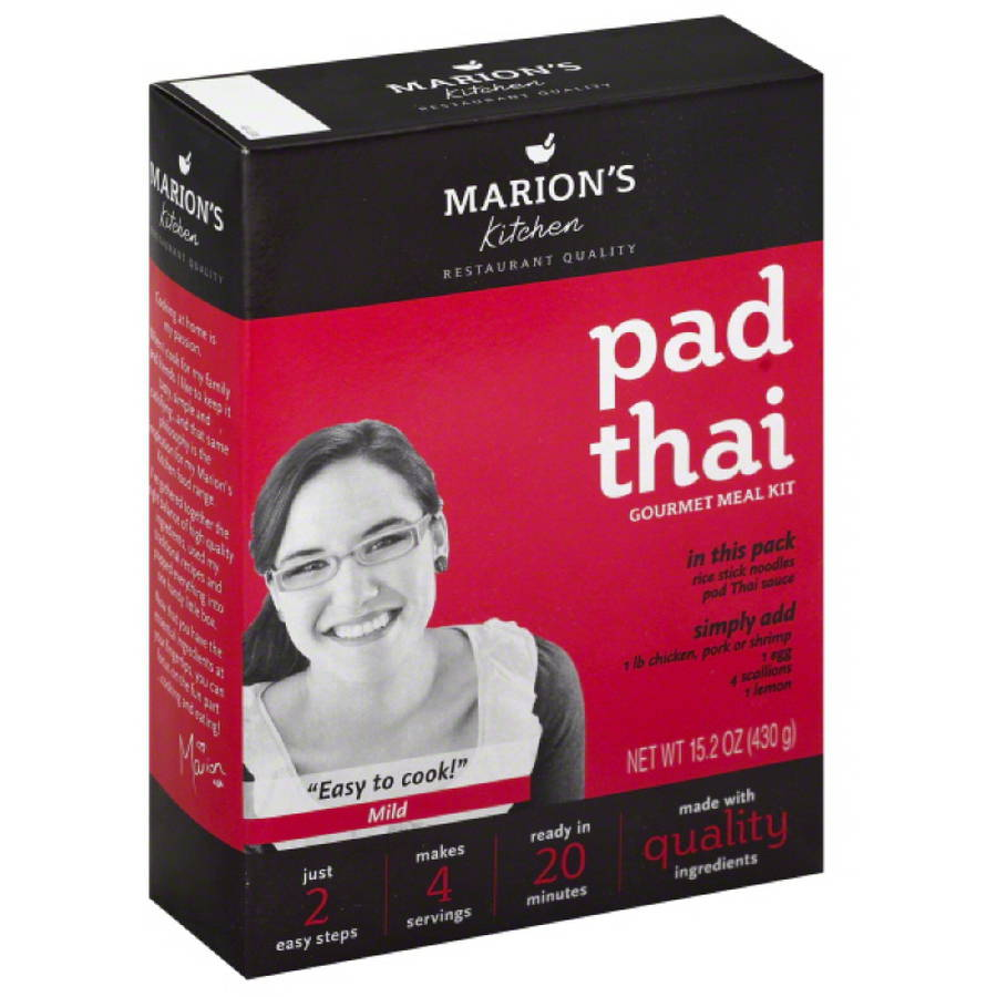 Marions Kitchen Pad Thai Gourmet Meal Kit, 15.2 oz, (Pack of 5)