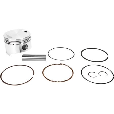 Wiseco Forged Piston Kit 100mm 12.5:1 Comp (100mm Wiseco Piston)