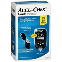 Accu-Chek Guide Blood Glucose Monitoring System - 1 Each, Guide blood glucose meter (batteries included with time&date) By Accu Chek