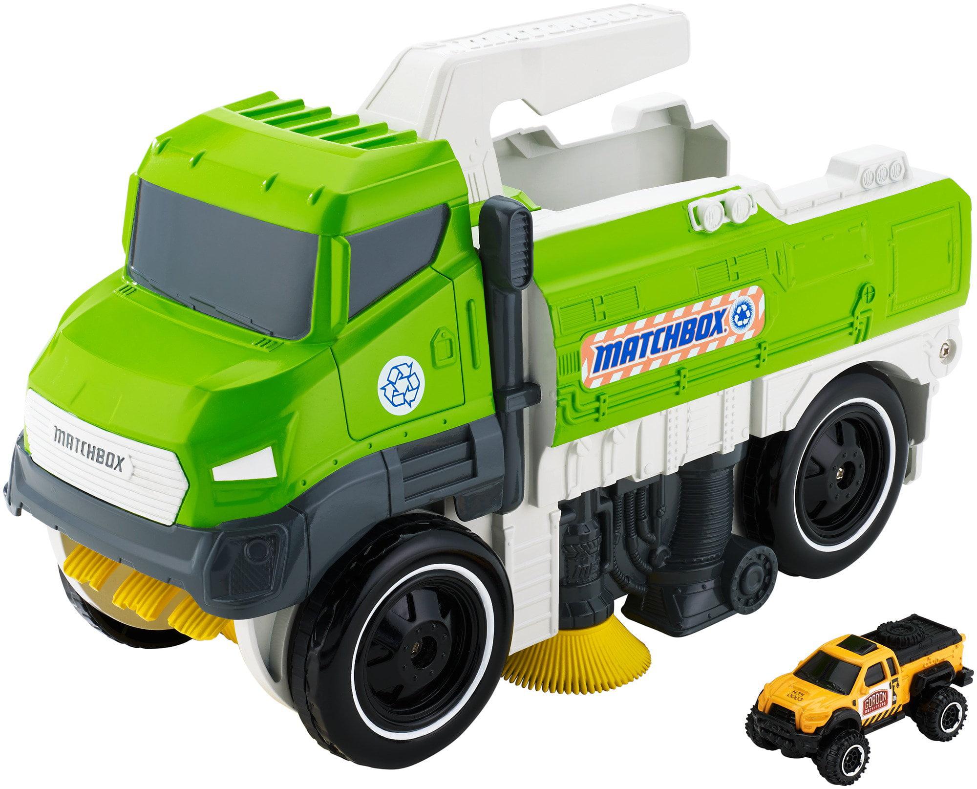 Matchbox Sweep �N' Keep Truck by Mattel