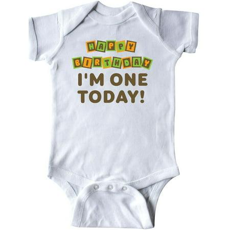 Happy Birthday 1 Yr Old Infant Creeper
