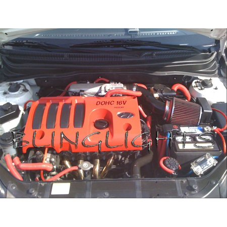 New 2006 2007 2008 2009 2010 2011 Hyundai Accent Performance Air Intake Engine Motor carbon fiber finish