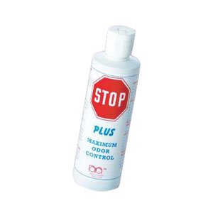 Stop Plus Ostomy Pouch Deodorizer 8 oz. - 8 Each / Bottle [Sold by the Bottle, Quantity per Bottle : 8 OZ, Category : Per Fluid Ounce, Product Class : Ostomy] 8 Oz Ostomy Pouch Deodorizer