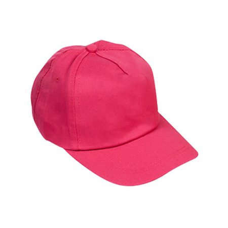 Adults Pink Color Baseball Hat Costume Accessory](Pink Baseball Hat)