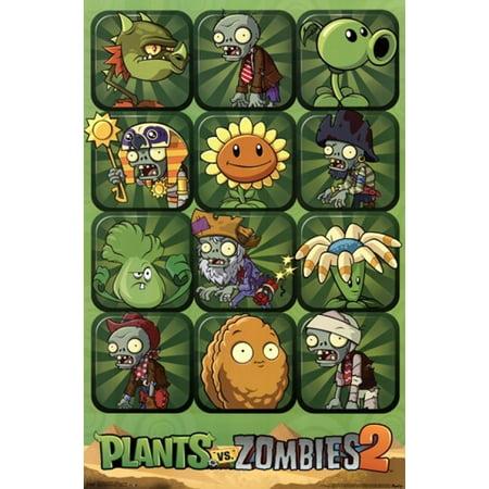 Plants vs Zombies 2 Poster Print
