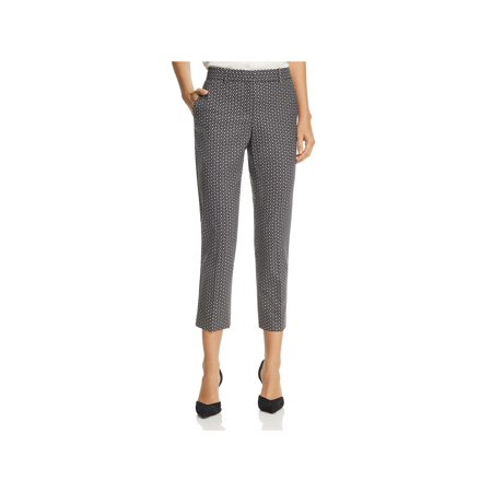 Theory Womens Treeca 2 Wool Professional Cropped Pants