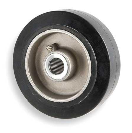 2RYY2 Caster Wheel, 500 lb., 8 D x 2 In.