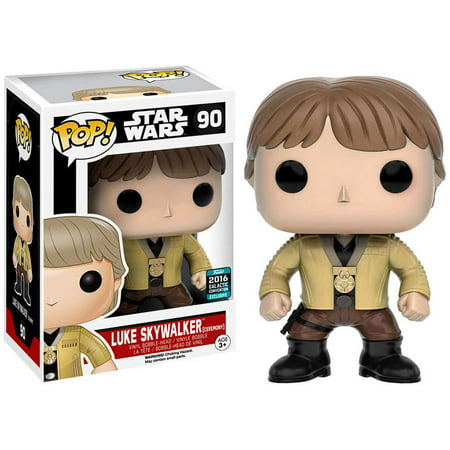 Funko POP! Star Wars Luke Skywalker Vinyl Bobble Head [Ceremony]](Luke Skywalker Tunic)