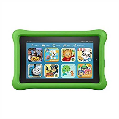 Fire Kids Edition Tablet, 7 Display, 16 GB, Green Kid-Pro...
