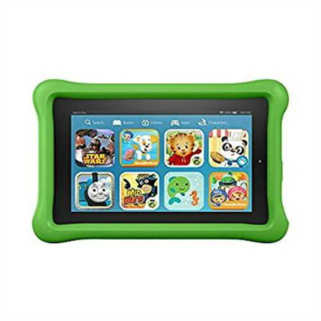 Fire Kids Edition Tablet  7 Display  16 Gb  Green Kid Proof Case  Previous Generation   5Th