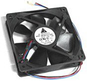 1st PC Corp. WFB1212H-R00 Delta WFB1212H-R00 Cooling Fan, Ball 40mm Server H2401 brushless Black 110 Shroud fan 2Pin... by Delta Electronics