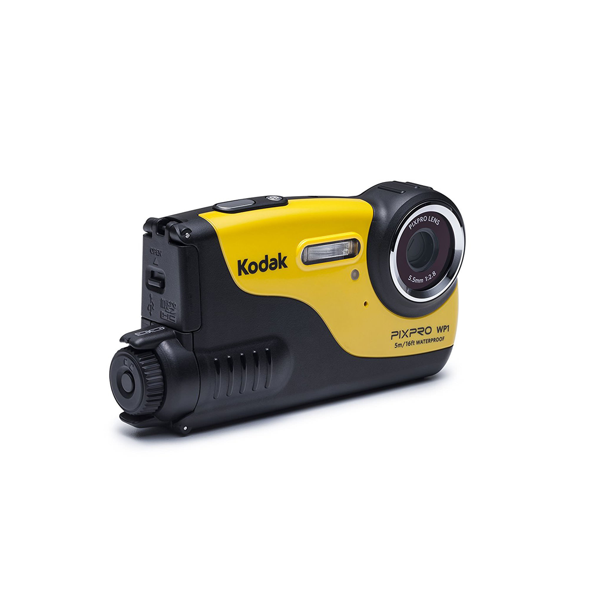 Kodak PIXPRO WP1 16MP 720P Waterproof, Shockproof, Dustproof Digital Camera (Yellow)