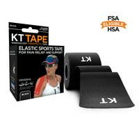 Lumos KT Tape Kinesiology Tape, Pre-cut Strips, 20 ea
