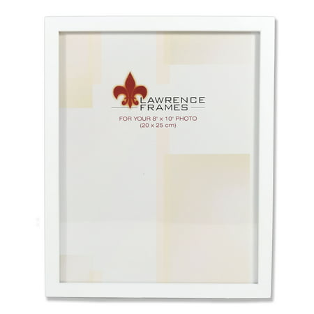 8x10 White Wood Picture Frame - Gallery Collection - Walmart.com