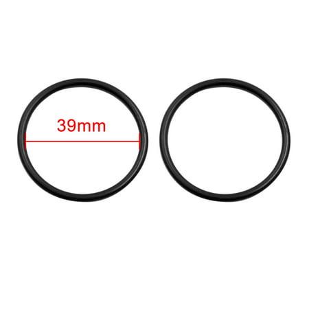 5pcs Black NBR70 O-Ring Washer Sealing Gasket for Car Vehicle 39 x 3mm - image 1 of 2