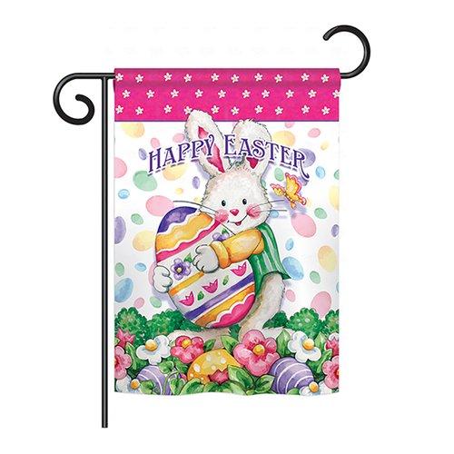 Breeze Decor Easter Treats 2-Sided Vertical Flag