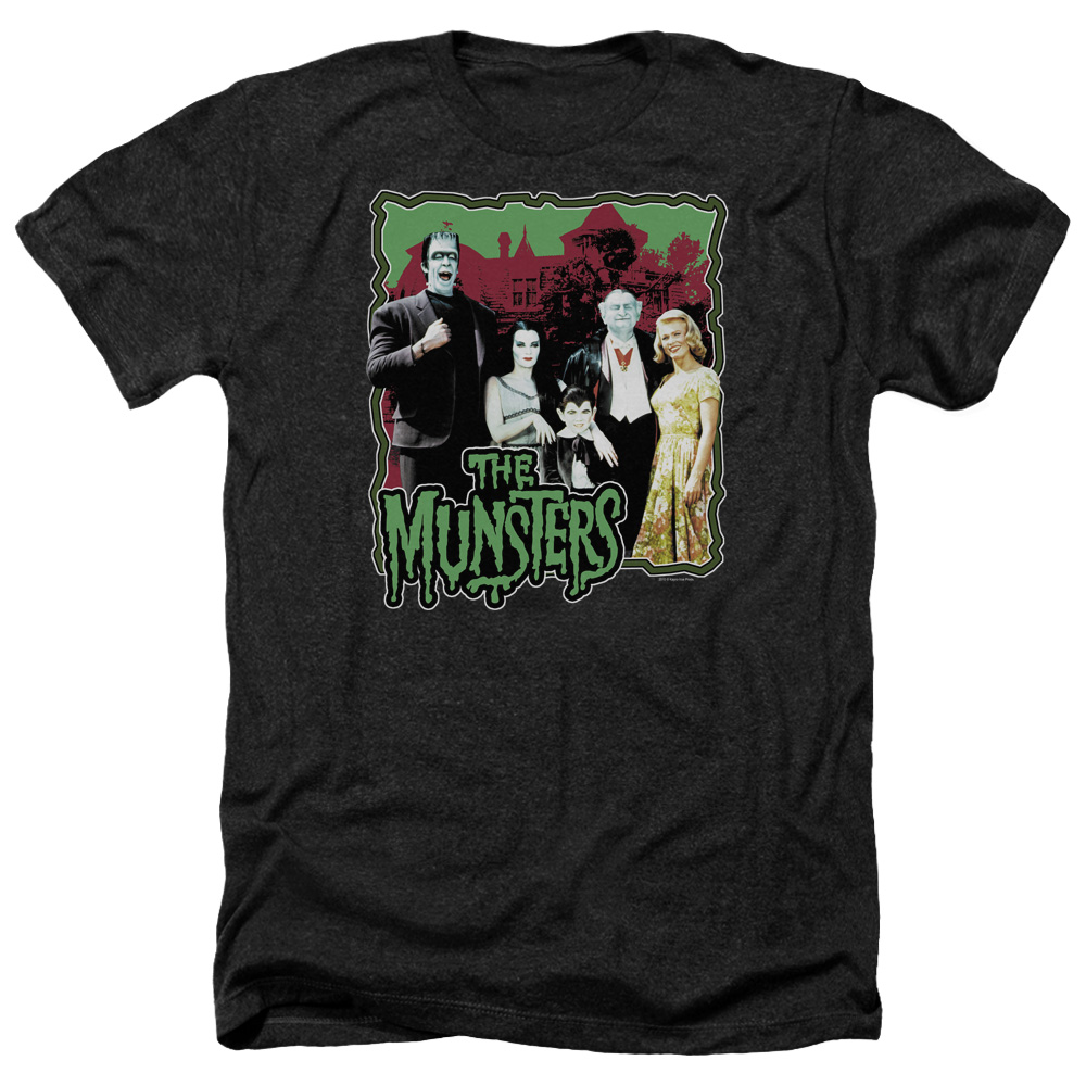 Munsters Normal Family Mens Heather Shirt