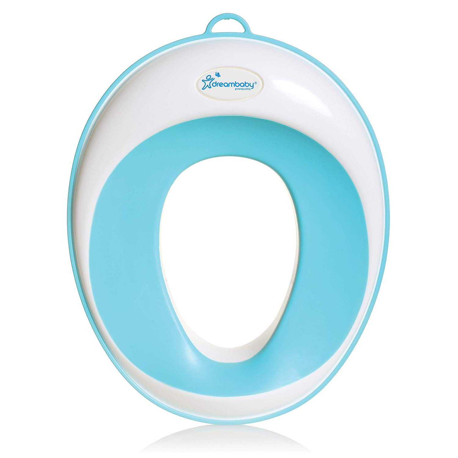 EZY- Potty Training Toilet Seat Topper, Non-Slip and Great for Travel, Soft touch seat provides maximum comfort to help your child feel at ease By Dreambaby