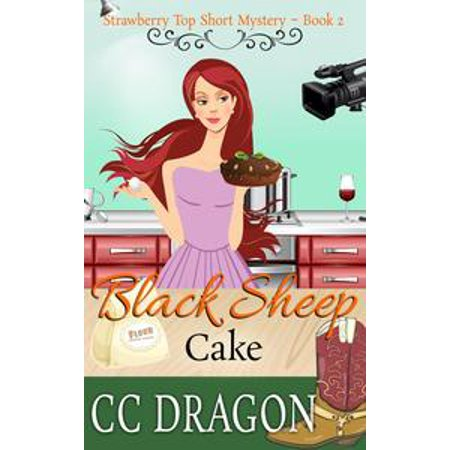 Black Sheep Cake (Strawberry Top Short Mystery 2) - (Le Top Strawberry)