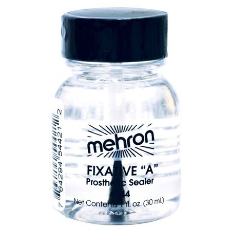Morris Costumes Mehron Fixative A - 1 Oz W Brush Halloween Accessory](Halloween Brushes)