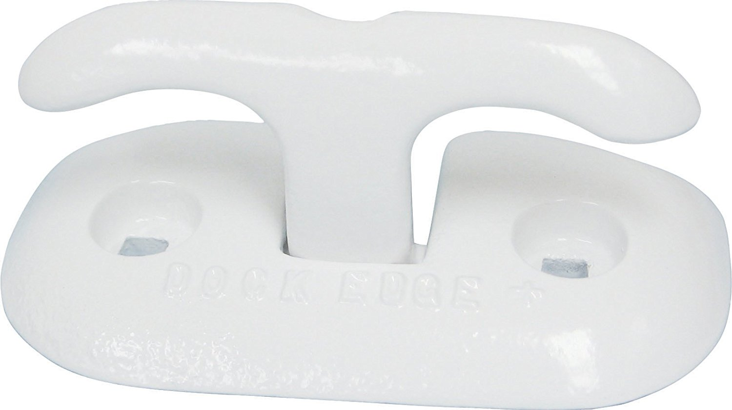 + AlMag 35 Flip-Up Dock Cleat, 6-Inch, White, Ship from USA, Brand Dock Edge by
