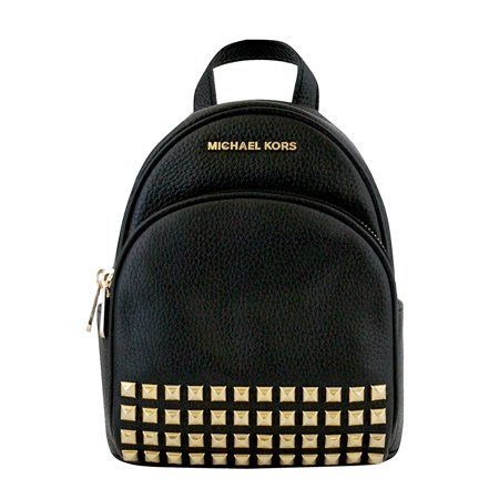 21894c546a9c Michael Kors Abbey Extra Small Studded Backpack In Black - image 1 of 3 ...