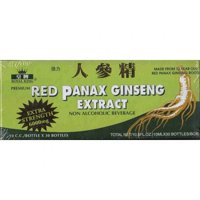 Ginseng Products Red Panax Ginseng 6000 mg, Alcohol Free, 30 Ct